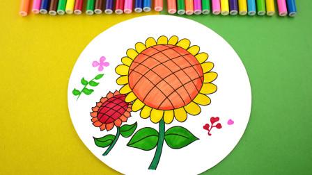 这么美丽的花朵简笔画,好玩又好学,我们一起来看一看吧!图片