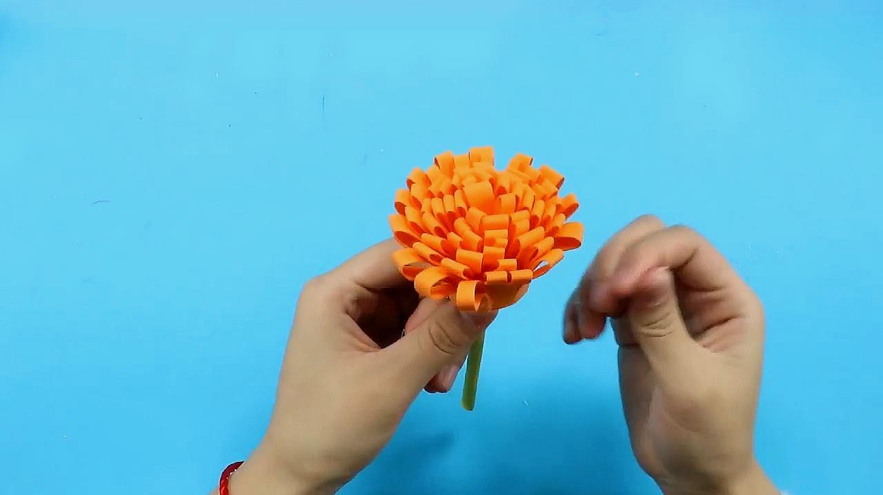 海绵纸手工制作,比纸做的好看