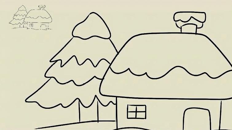 今天教小朋友家乡的简笔画,拿出手中的画笔一起来完成吧!
