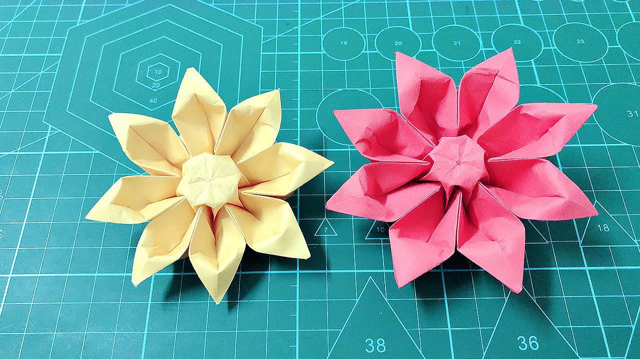 100种花折纸大全图解