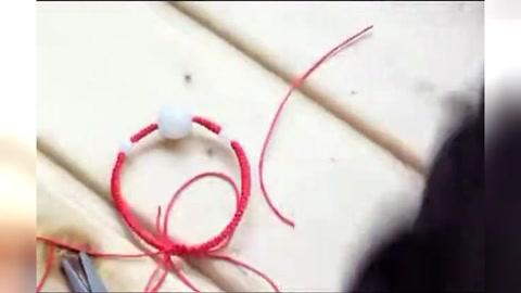红绳手链编法图解教程