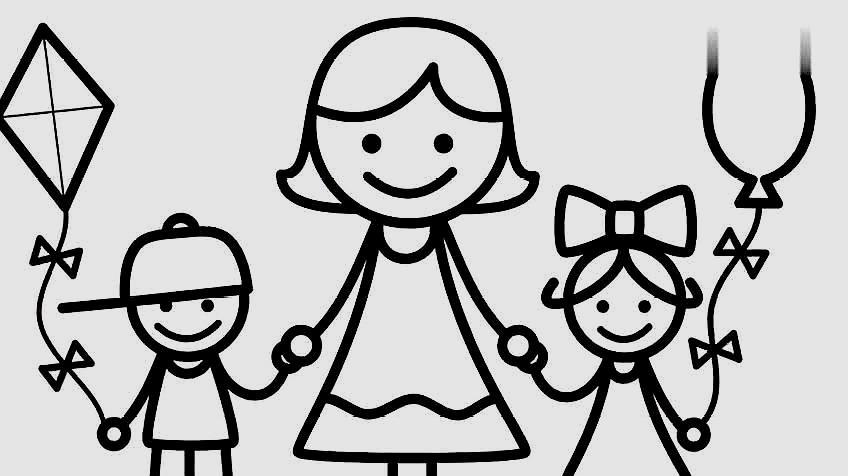 人物绘画练习:儿童画人物女孩