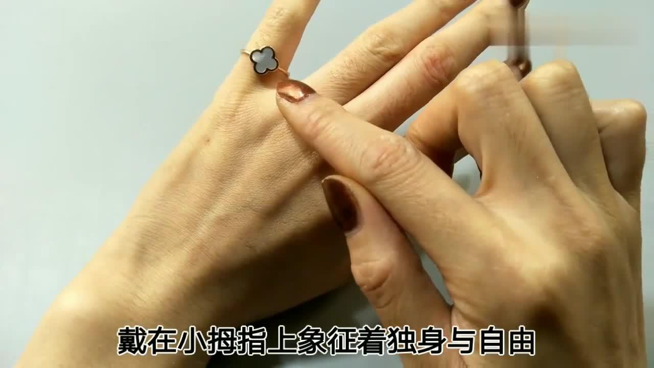 戒指戴在中指有什么含义