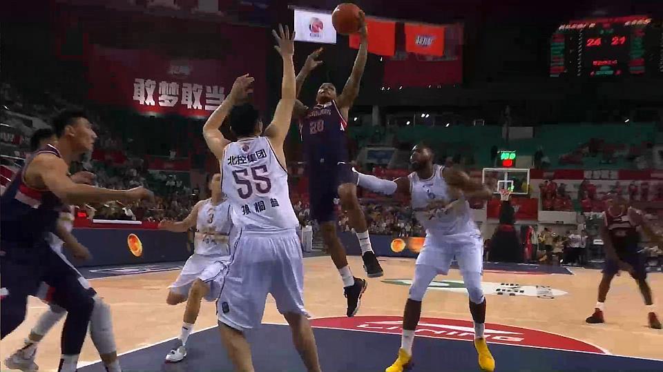 北控134-123双加时客胜广州 弗格43分11篮板 桑尼17分9篮板