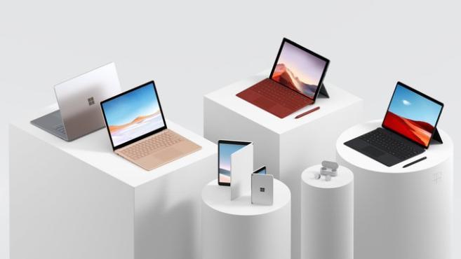 2分钟看完微软2019新品发布会,双屏成最大亮点!