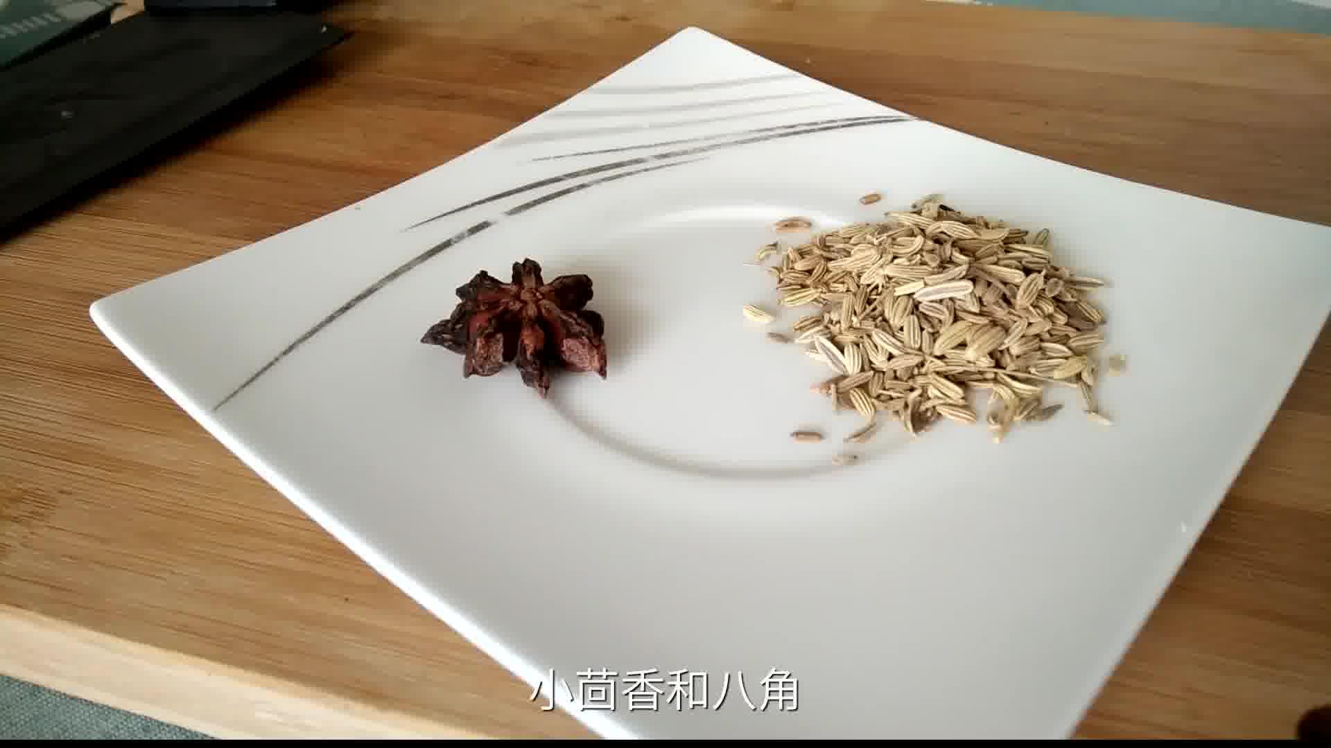 小茴香,牛尾,小米椒孜然,再放入煸炒放入2分钟,翻炒羊肉粉02:44大连到哪买洋葱骨?图片