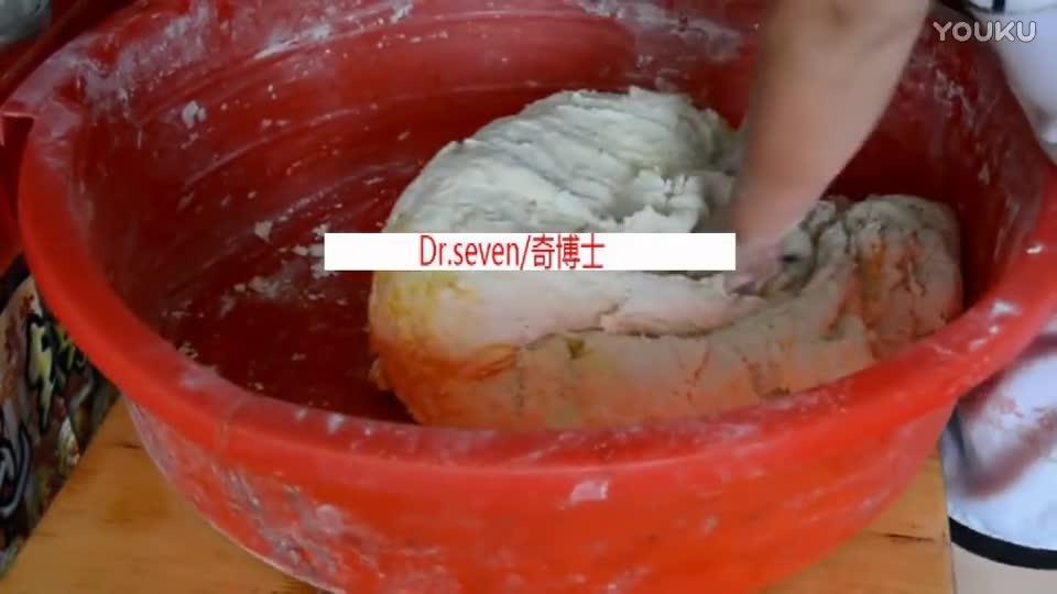 「奇博士」四川名小吃《军屯锅盔》的制作方法和面篇!