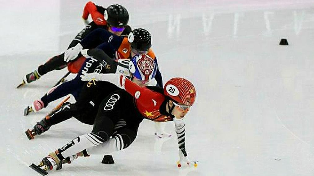 争气!中国女队短道速滑3000米接力夺冠军,韩国脸色不太好看