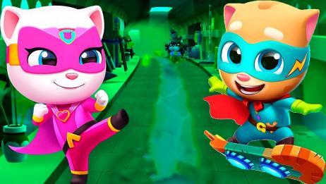 汤姆猫英雄跑酷游戏解说系列
