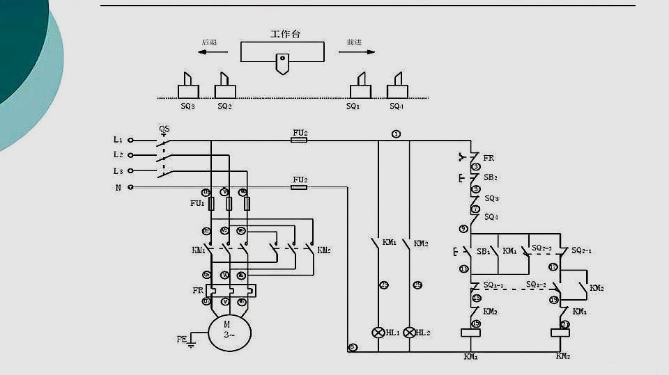 点动加自锁 服务升级打开原网页 10电工知识:电动机异地控制电路实物