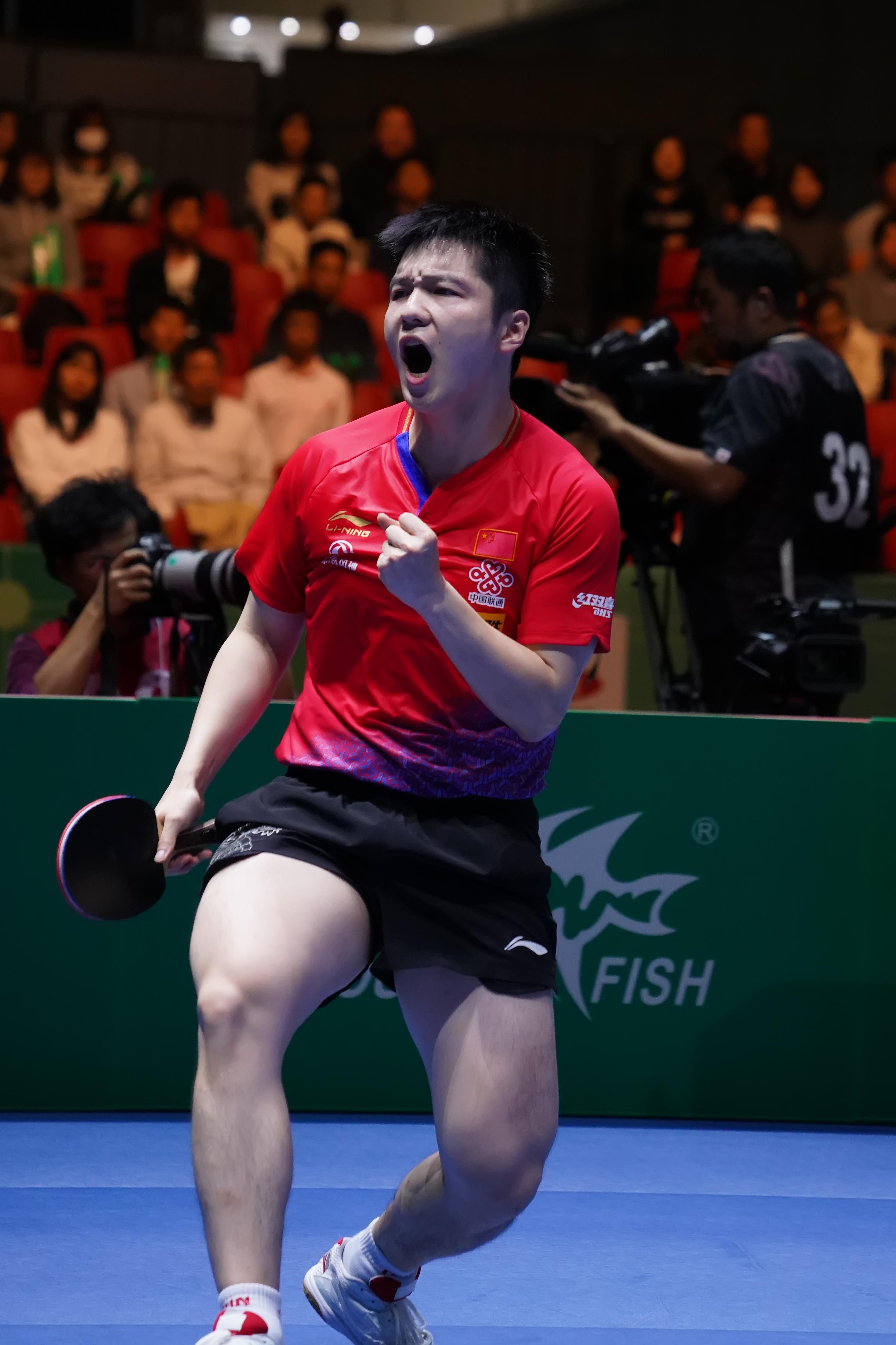 统治!中国男乒3-1逆转韩国,豪取世界杯男团八连冠