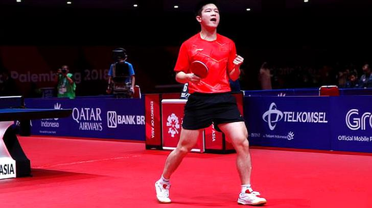 八连冠!乒乓球世界杯团体赛,中国男团3比1韩国夺冠