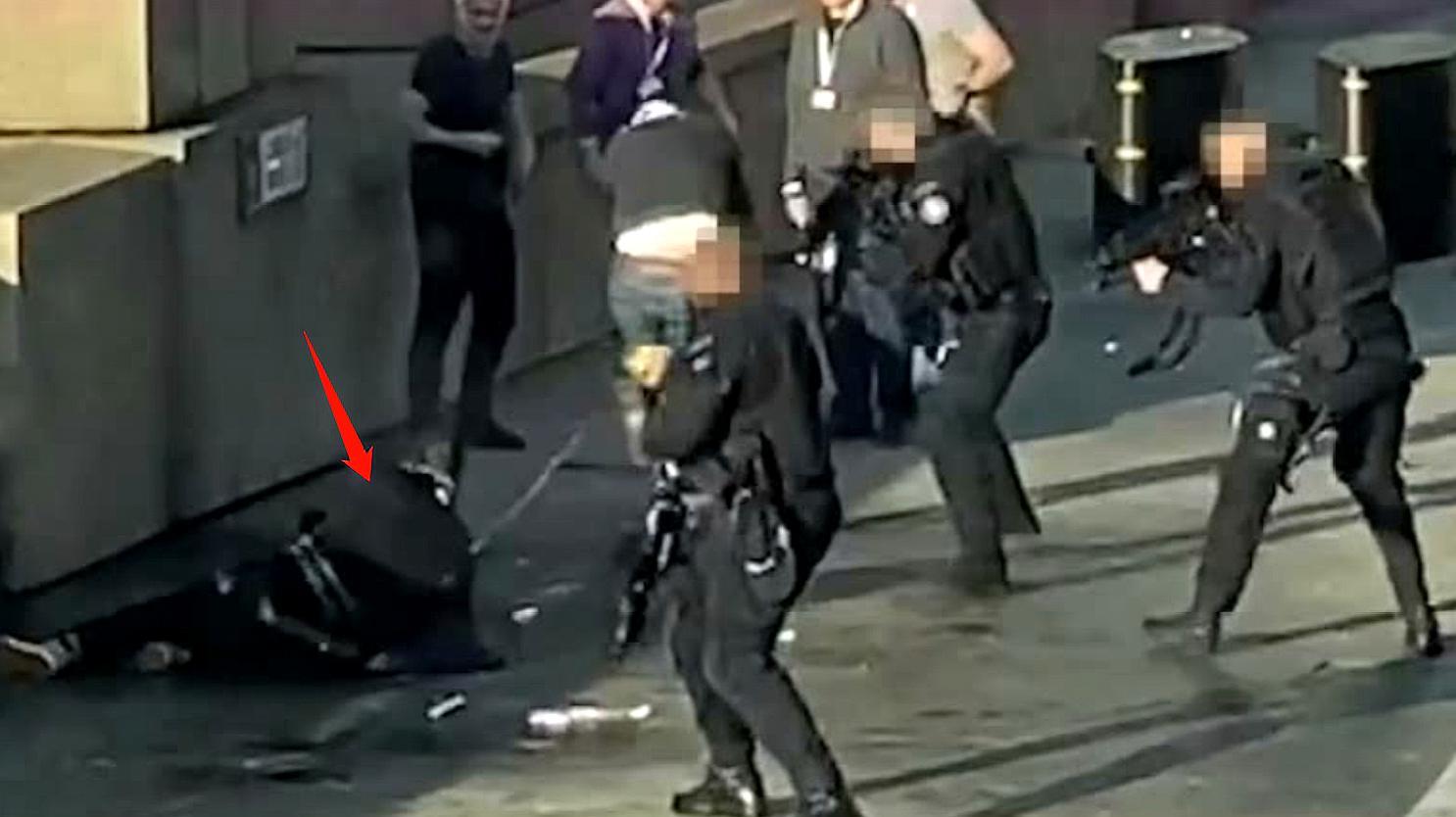 恐袭!男子伦敦桥上血祭感恩节 持刀捅人已致2死3伤被击毙