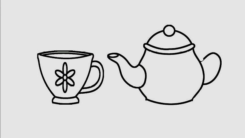茶壶怎么画好看?图片