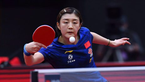 2020女子世界杯决赛 陈梦41战胜孙颖莎 获得自己首个世界杯冠军