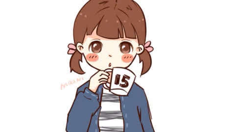 如何画出可爱的小女孩
