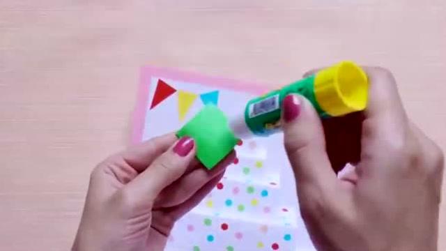 兒童節手工賀卡:教你制作立體個性賀卡,送給寶寶的六一禮物