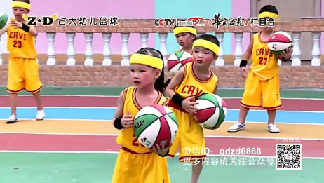 幼儿篮球操《篮球宝贝》