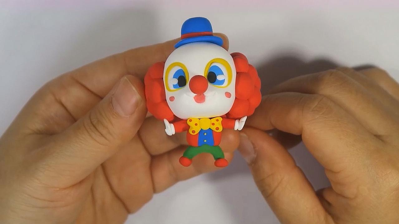 幼儿园手工小丑做法