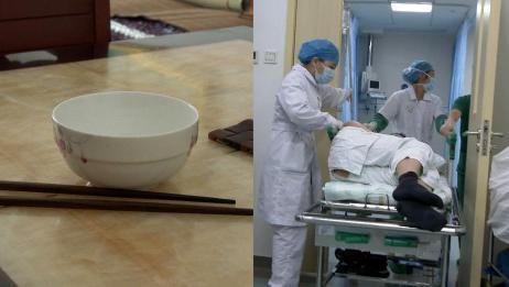 男子吃老鸭汤险丧命:鸭骨刺入食道,咳嗽一下都有生命危险