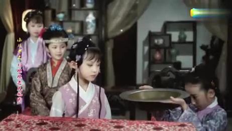 小戏骨版《红楼梦》:小林黛玉好可爱惹人怜爱,完全就是富家千金