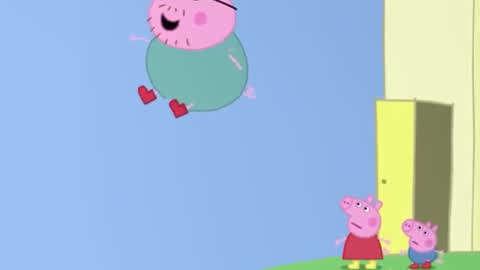 【朵朵】小猪佩奇系列游戏:小猪佩奇长痘痘啦,赶快给她体验一下吧?初漫画美容温泉图片