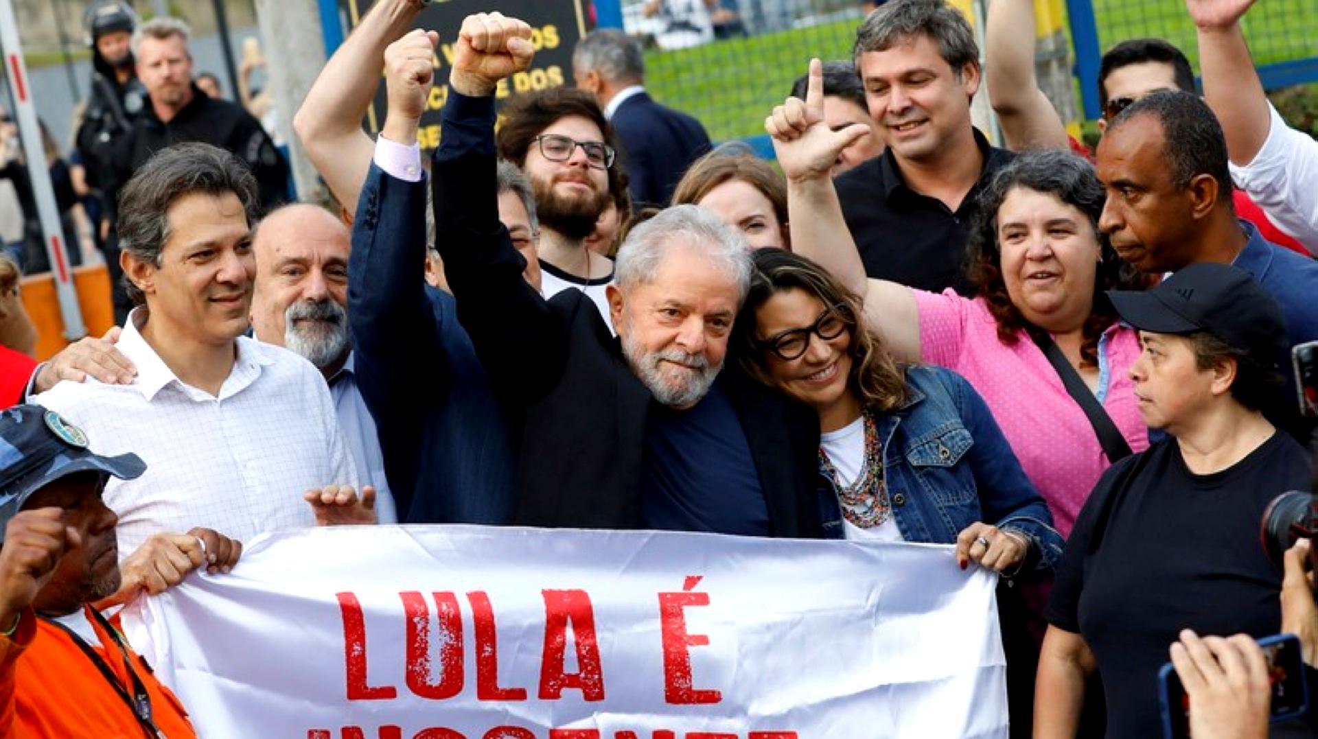 巴西前总统卢拉出狱引关注