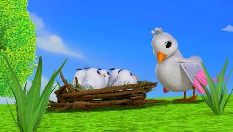 百变校巴:鸟妈妈和孩子们团聚了,孩子们有救了,有吃的了