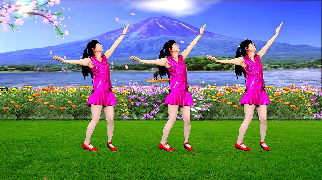 广场舞《中国范儿》歌声大气悠扬,简单又好看