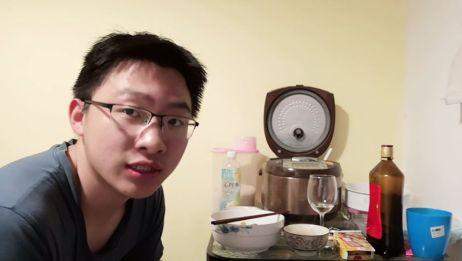 (每日寻新系列)4.23 自己做的腊肠炒花菜,不要太好吃!!!