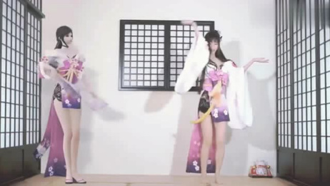 范思威一首《爱情错位》DJ版,旋律好听,美女的舞蹈也很棒
