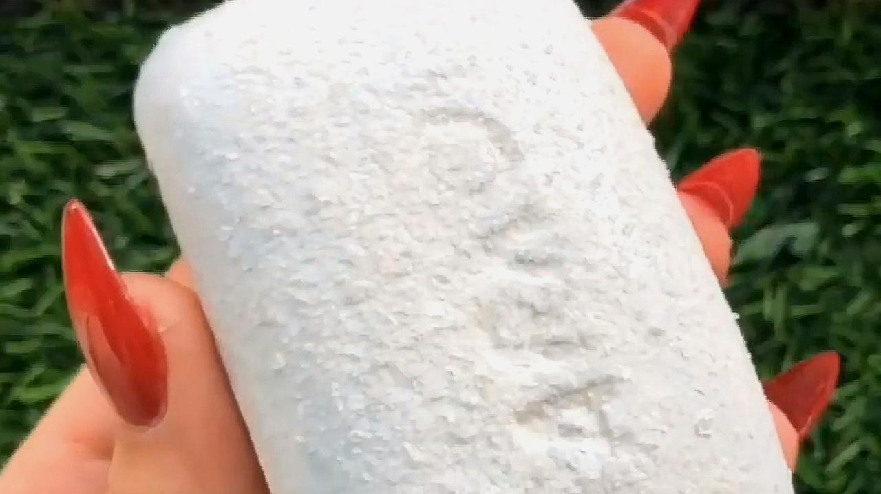 Asmr异常满足:刮肥皂,既能放松你的压力又好玩!强迫症必进