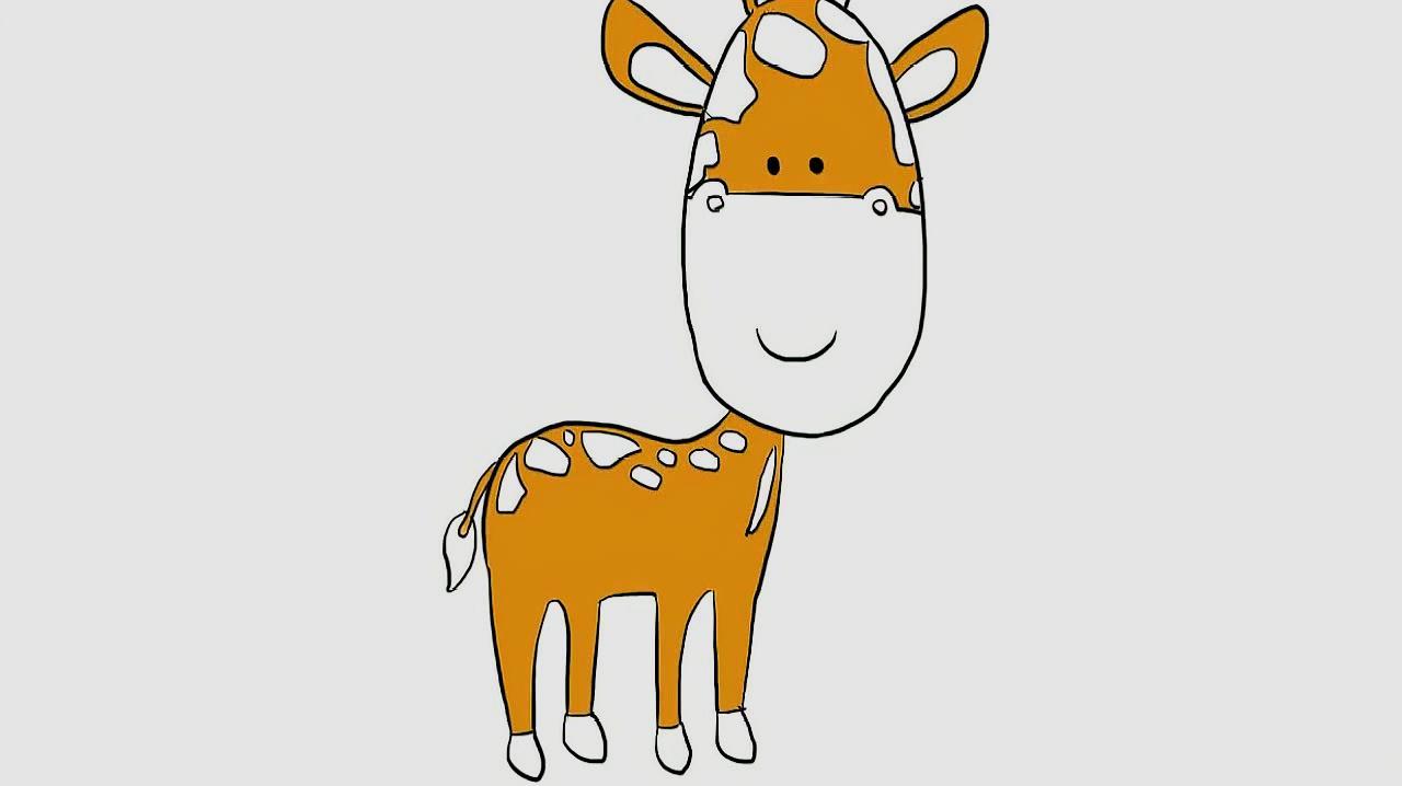 小鹿简笔画怎么画