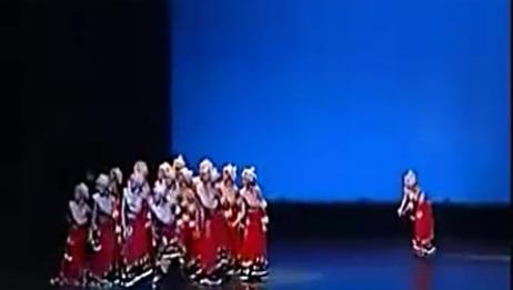第八届桃李杯女子群舞《唐古拉风》藏族舞蹈