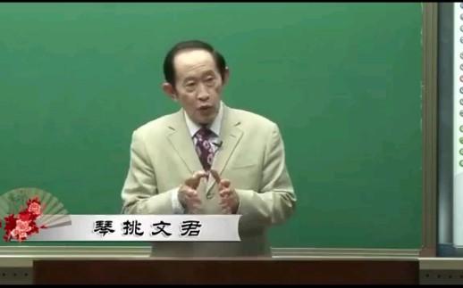 王老师讲:司马相如与卓文君(五集全) 附上最具争议骗财骗色说