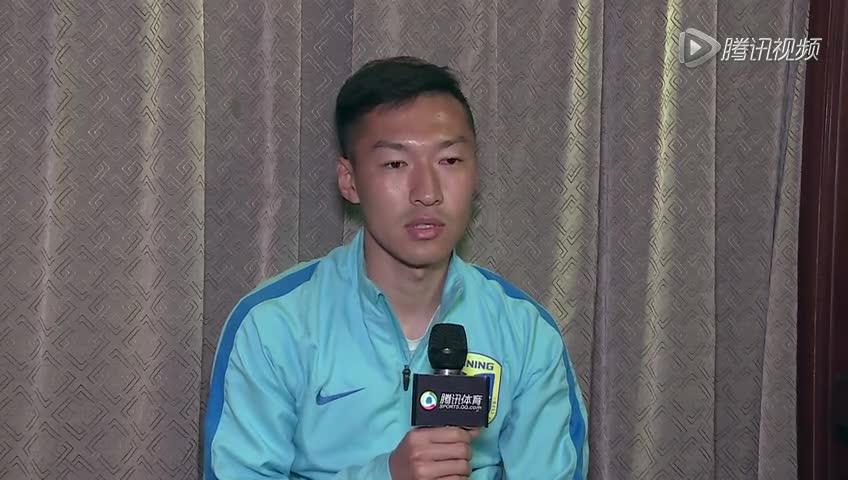专访吴曦:球队还需磨合 超级杯和恒大五五开
