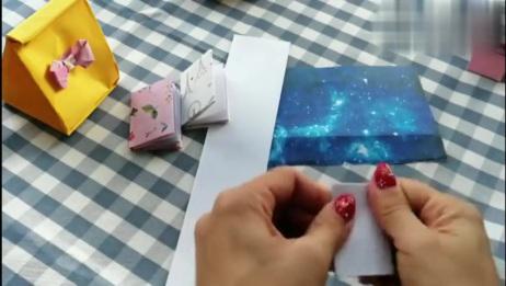 手工折纸漂亮的迷你书本