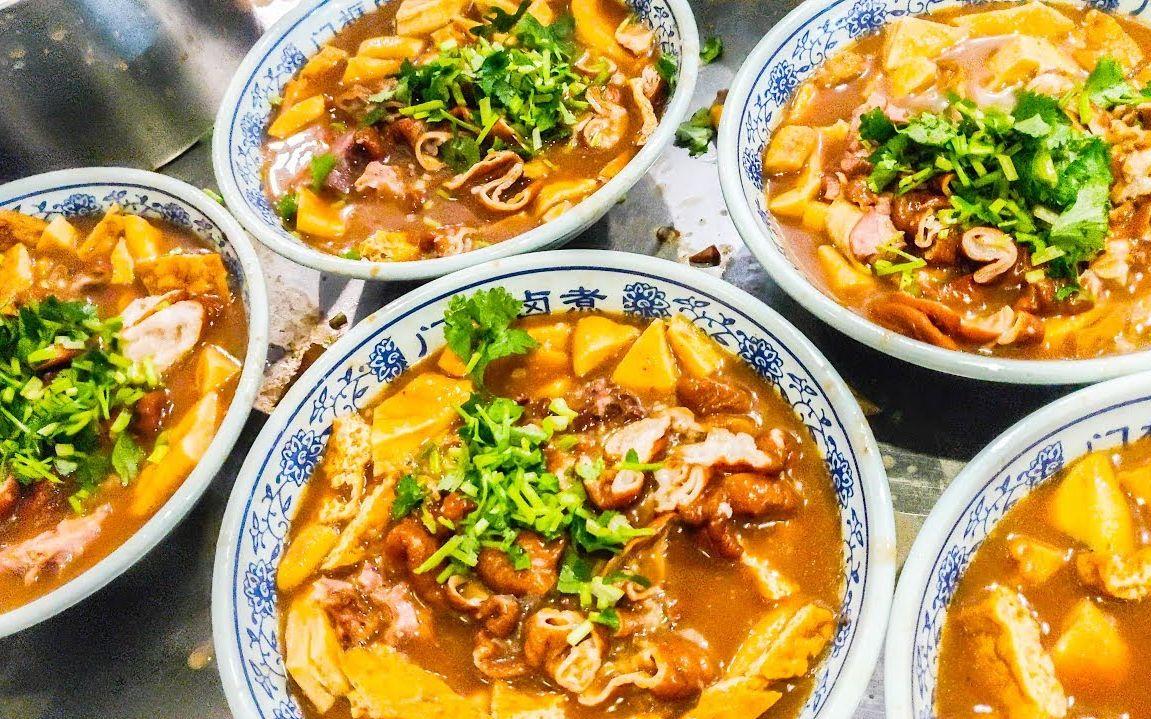 吃货老外5天去了5座城市只吃了5碗面,疯狂的中国美食之梦!
