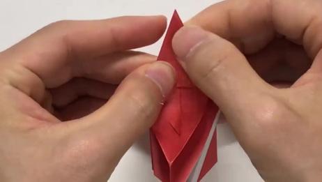 超酷手工折纸迄今为止最好看的伊布 超级酷的折纸教程