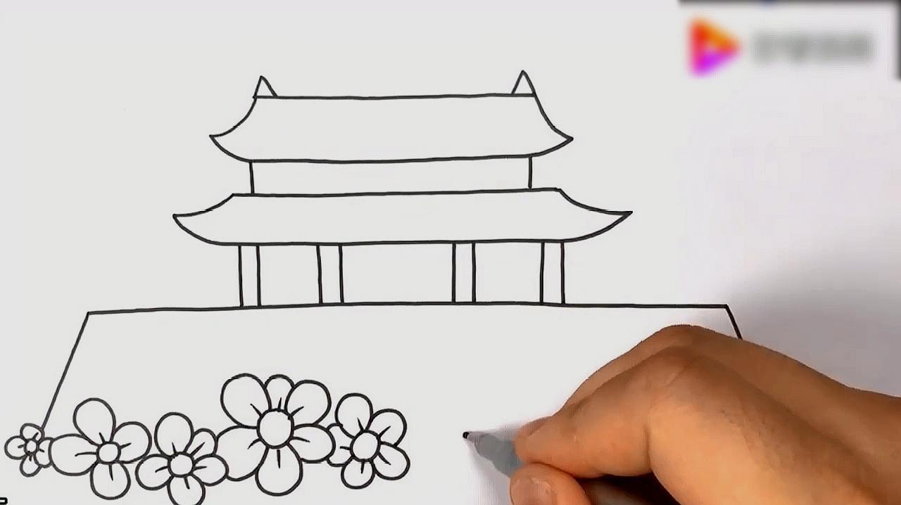 儿童几种简笔画的入门教程
