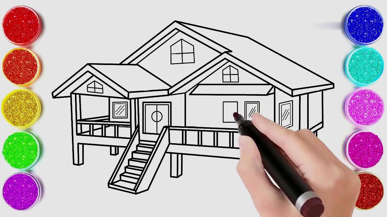 12  来源:好看视频-简单的房子简笔画,儿童亲子简笔画,动手动脑学画画图片