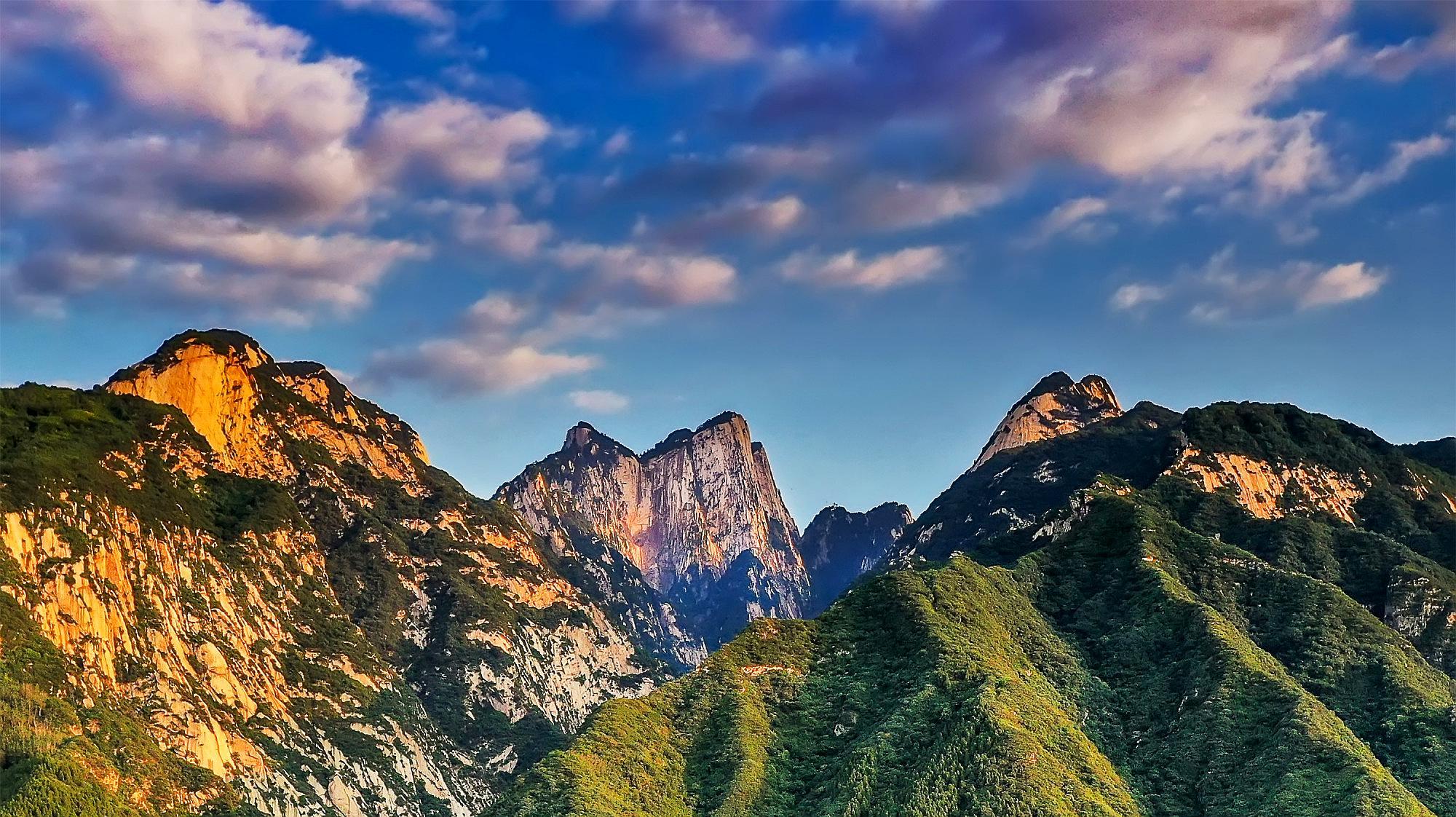 中国名胜风景航拍照片