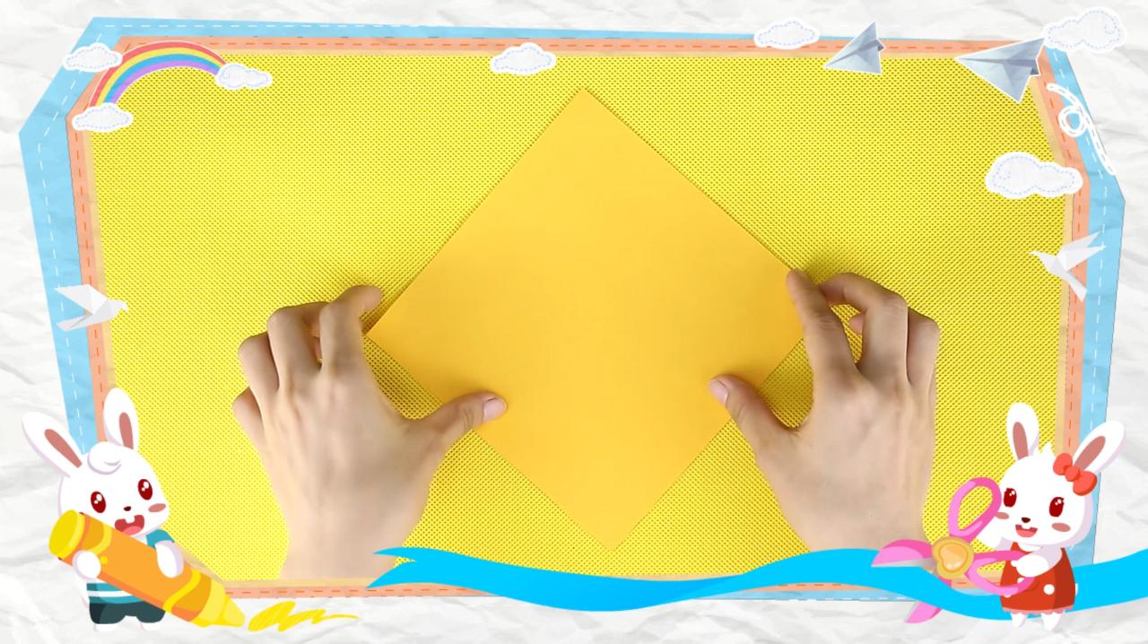 手工制作折纸恶作剧