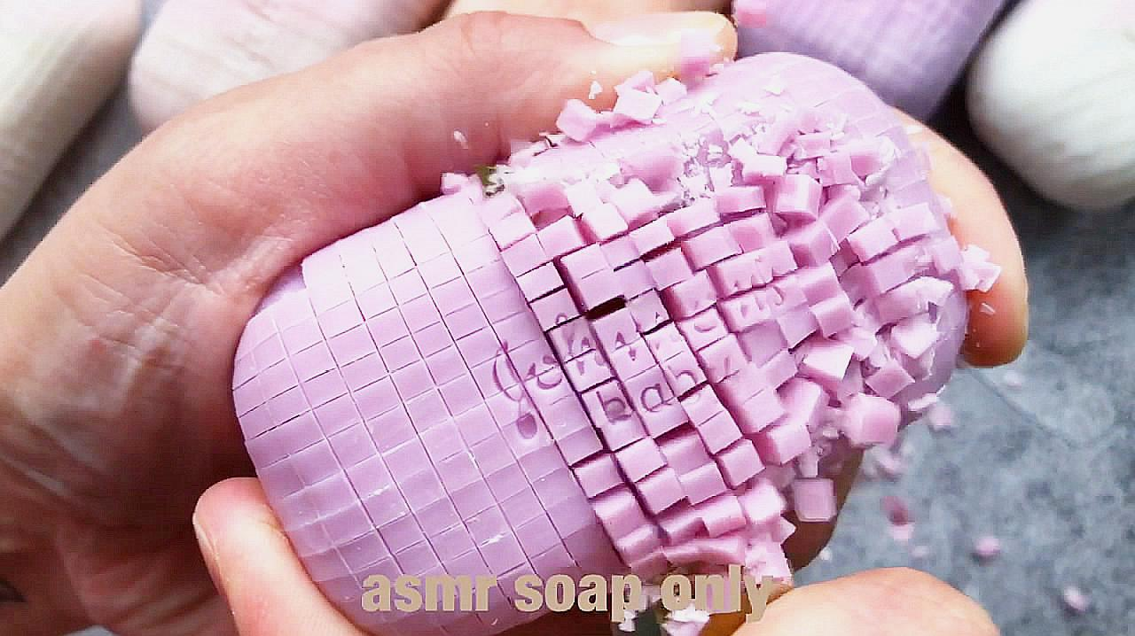 解压时刻:刮马赛克香皂,看起来太过瘾了