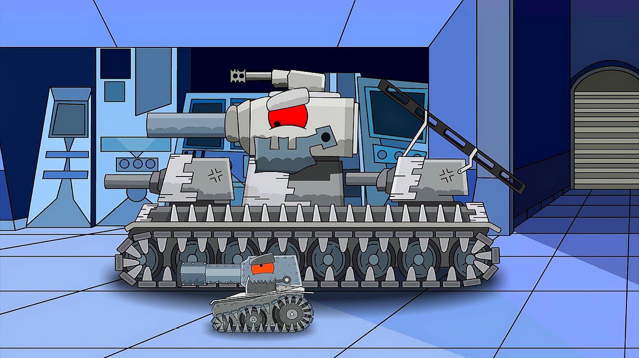服务升级打开原网页 12坦克世界动画:是kv44还是kv6?图片