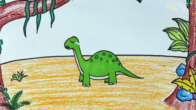 恐龙简笔画的画法