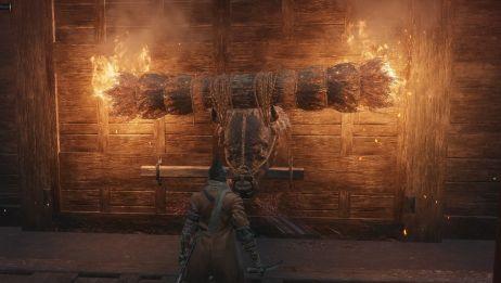 【只狼】当你成功跳过火牛bug,在上面不走看着会发生什么?