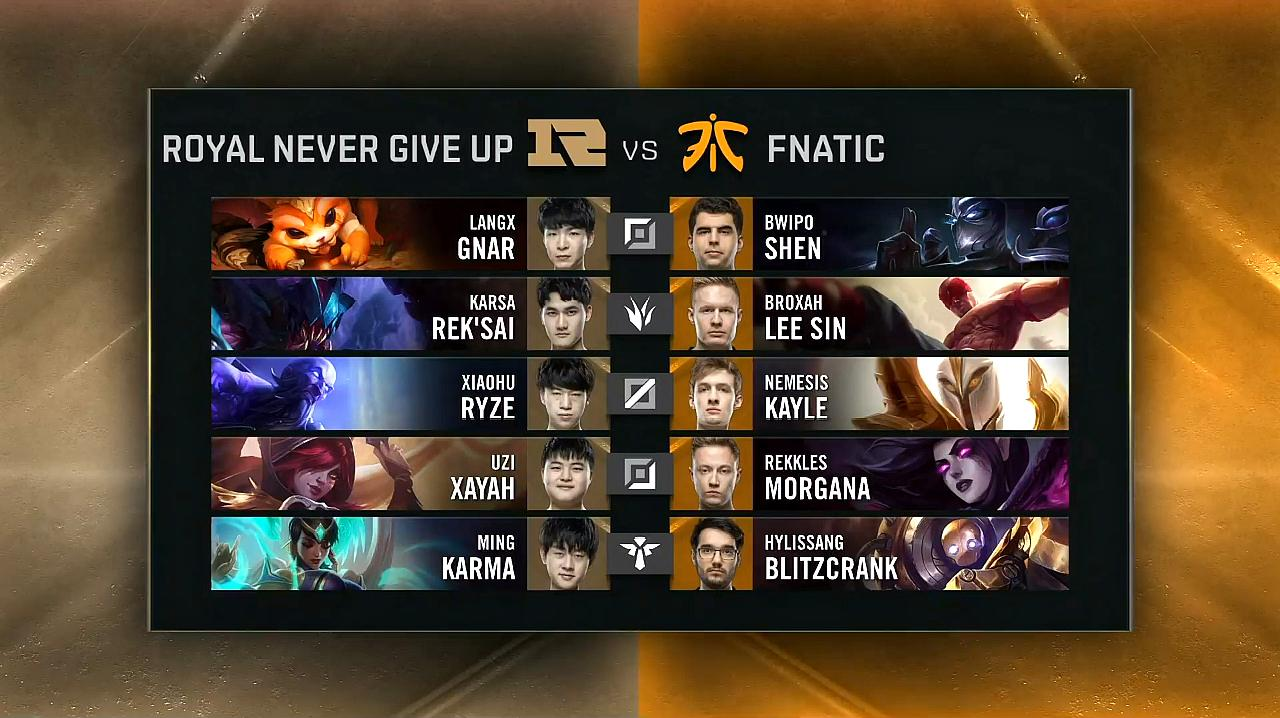 「S9小组赛」RNG VS FNC