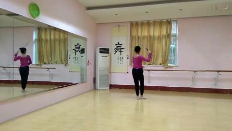 中国古典舞 剑舞组合分解练习 岳老师舞蹈
