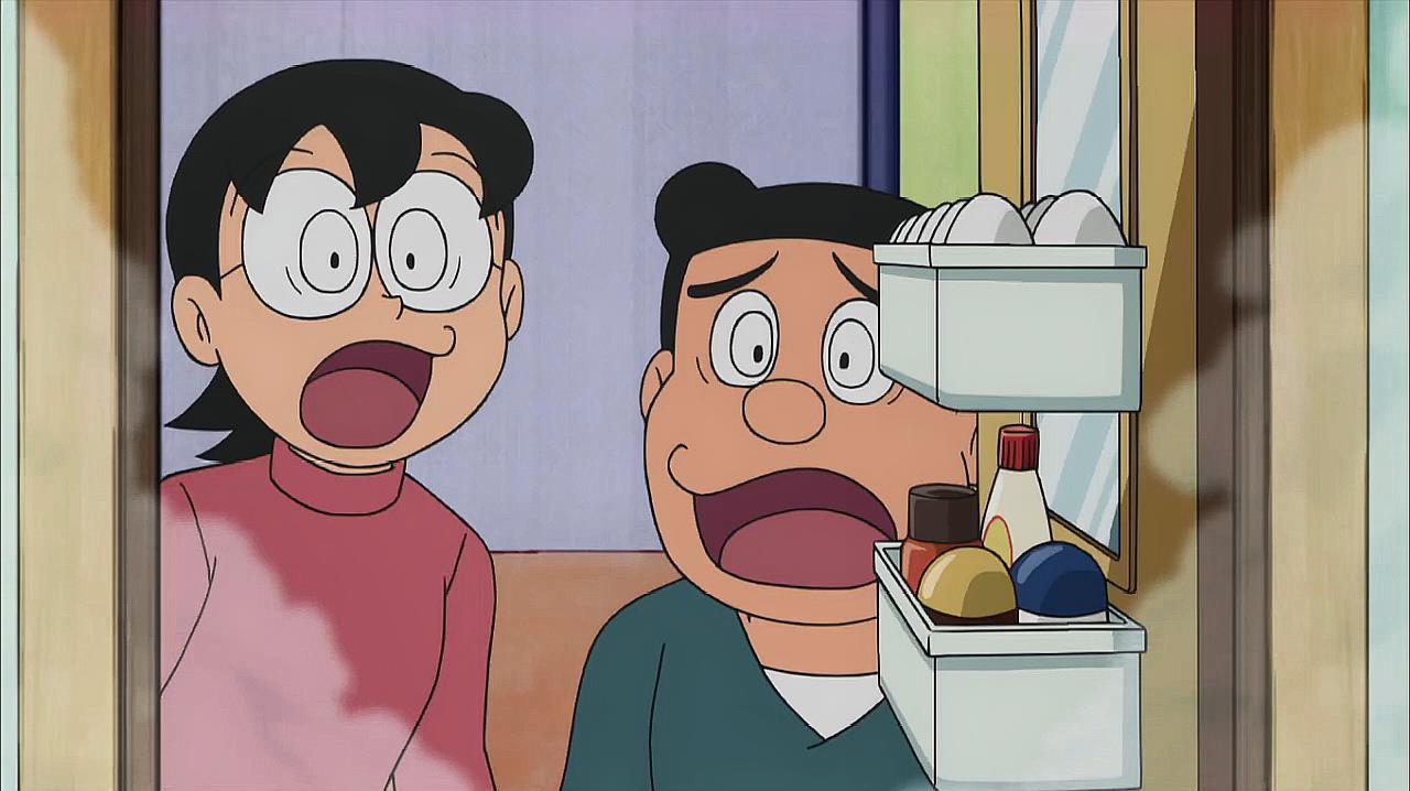 大雄和哆啦A梦把家里所有的东西都融合了,妈妈爸爸快气死了!